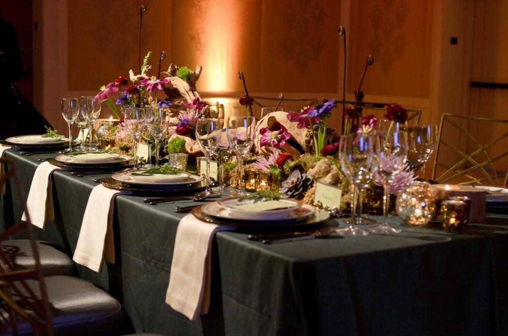 Rosewood Sand Hill Ballroom Wedding Table