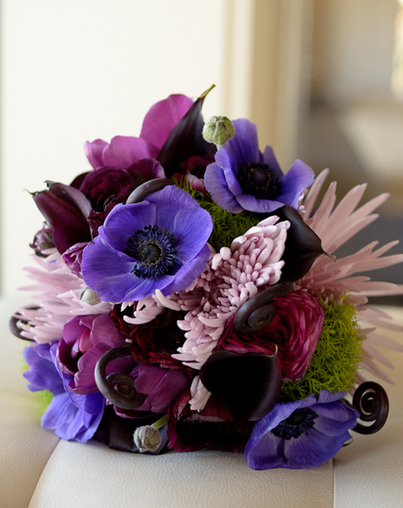 Huckleberry Karen Purple Lavender Wedding Bouquet